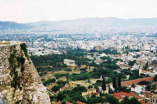 ヘファイストス神殿(古代アゴラ)