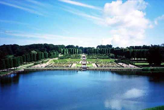 フレデリクスボー城庭