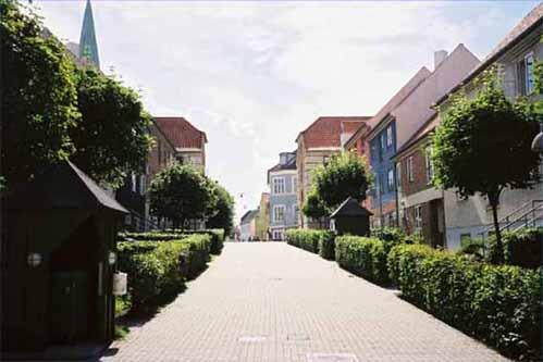ヘルシンゴーの街