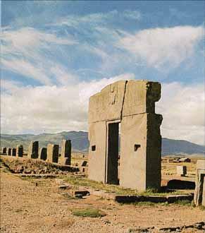 ティワナク遺跡