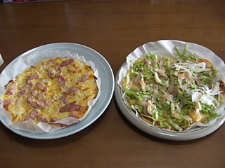 レタスピザ