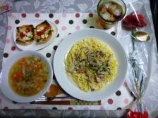2011母の日 料理全体