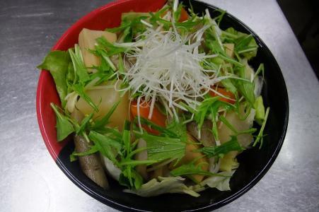 野菜野菜野菜、少し鶏肉