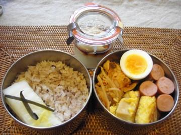 胡麻豆腐弁当