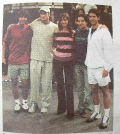 Nadal Feli Verdasco / Madrid 2003 Tourney Paper