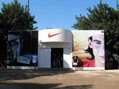 Barcelona 2003 Nike stand