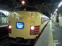 深夜の高崎駅にて