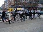 コペンハーゲンの出勤風景