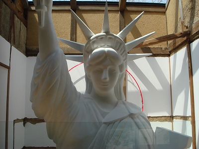 200703 直島 自由の女神像