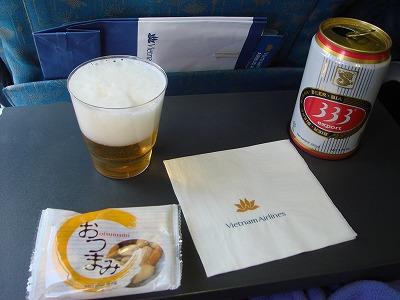 関空→ホーチミン ビール