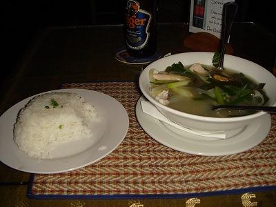 シェムリアップ 初日の夕食