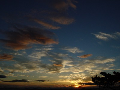鷲羽山 夕焼け