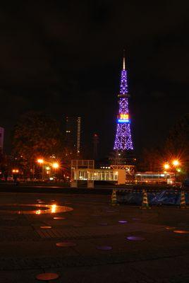 札幌のテレビ塔