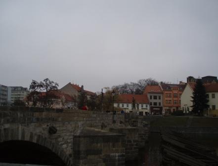 チェコ国内最古の石橋