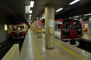 2011年5月14日 長野電鉄長野線 長野 2000系D編成・2100系E1編成