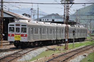 2011年5月14日 長野電鉄長野線 須坂 8500系T2編成