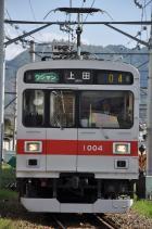 2011年5月14日 上田電鉄別所線 下之郷~大学前 1000系1004F