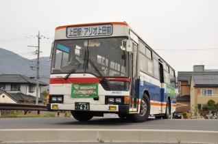 2011年4月30日 上田バス アリオ上田シャトルバス