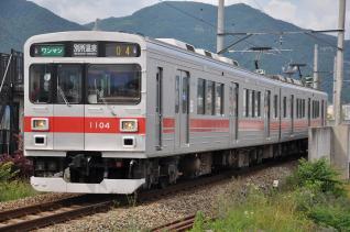 2011年6月19日 上田電鉄別所線 上田~城下 1000系1004F