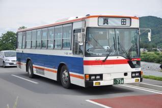 2011年6月19日 上田バス アリオ上田線送り込み
