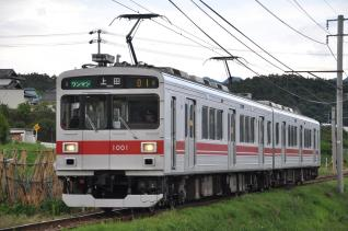 2011年6月21日 上田電鉄別所線 神畑~寺下 1000系1001F