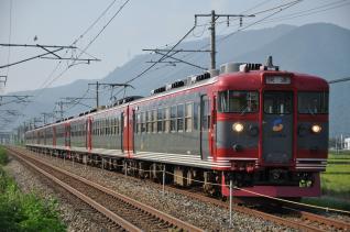 2010年8月25日 しなの鉄道線 テクノさかき~坂城 169系S54編成以下9両