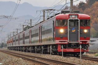 2010年11月22日 しなの鉄道線 屋代~千曲 169系S53編成以下9両