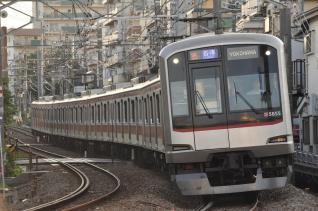 2011年7月11日 東急東横線 妙蓮寺~白楽 5050系5155F 夏の特別ダイヤ
