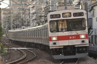 2011年7月11日 東急東横線 妙蓮寺~白楽 9000系9001F 夏の特別ダイヤ