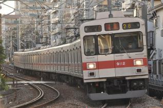 2011年7月11日 東急東横線 妙蓮寺~白楽 9000系9012F 夏の特別ダイヤ