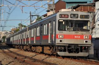2011年7月11日 東急東横線 白楽~妙蓮寺 9000系9012F 夏の特別ダイヤ