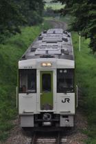 2011年7月14日 JR東日本小海線 中佐都~美里 JRキハ111-110以下3両