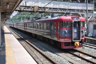 2011年7月14日 しなの鉄道 屋代 169系S54編成+S51編成