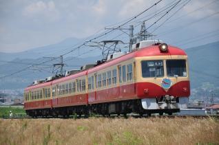 2011年7月14日 長野電鉄長野線 柳原~村山 2000系D編成