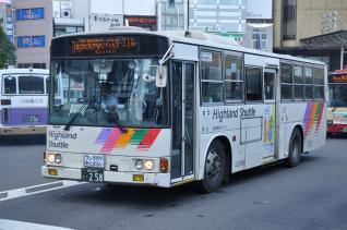 2011年7月14日 長野駅 アルピコ交通 40258号車