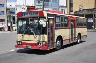 2011年7月14日 長野駅 長電バス 367号車