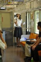 2011年7月17日 上田電鉄別所線 ガイド&ハーモニカ列車