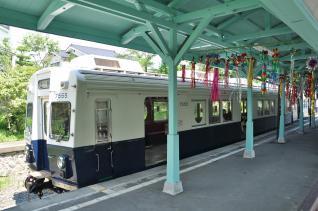 2011年7月17日 上田電鉄別所線 別所温泉 7200系7255F