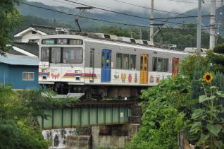 2011年7月30日 上田電鉄別所線 別所温泉~八木沢 1000系1002F