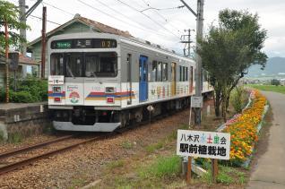 2011年7月30日 上田電鉄別所線 八木沢 1000系1002F