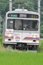 2011年7月30日 上田電鉄別所線 八木沢~別所温泉 1000系1002F