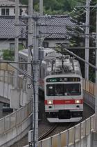 2011年7月30日 上田電鉄別所線 城下~上田 1000系1001F