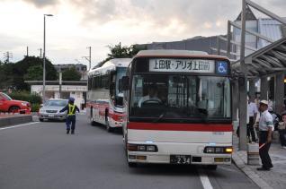2011年7月30日 上田駅温泉口