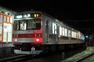 2011年7月30日 上田電鉄別所線 下之郷 1000系1001F 上田わっしょい臨時ダイヤ
