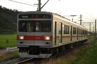 2011年7月31日 上田電鉄別所線 八木沢~別所温泉 1000系1001F