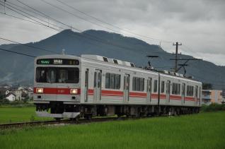 2011年7月31日 上田電鉄別所線 大学前~下之郷 1000系1001F