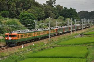 2011年7月31日 しなの鉄道 平原~小諸 S52+S53+S51+S54