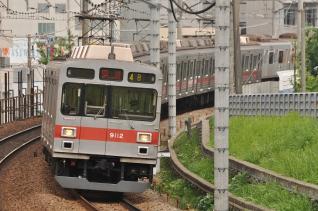 2011年8月2日 東急田園都市線 9000系9012F