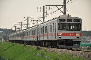 2011年8月2日 横浜高速こどもの国線 長津田~恩田 東急9000系9012F