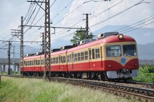 2011年8月11日 長野電鉄長野線 2000系D編成